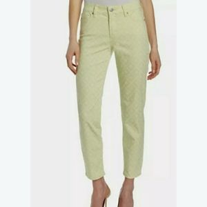 NYDJ Alisha Fitted Ankle Basket Weave Jeans